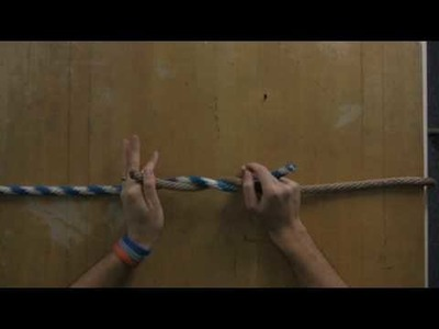 Knots & Knot-Tying Instructions : How to Tie a Navy Square Knot