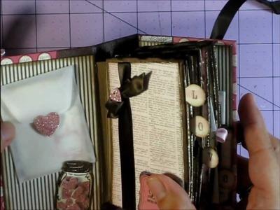 """Love"" Coffee Sleeve Mini Album for Leticia"
