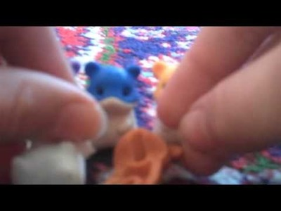 Make a hamster japanese eraser