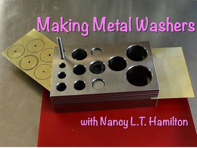 Making Metal Washers | Jewelry Tips with Nancy