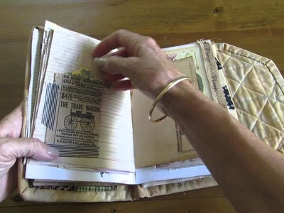 My Patchwork Quilted Journal ~ Marianne's Tutorial