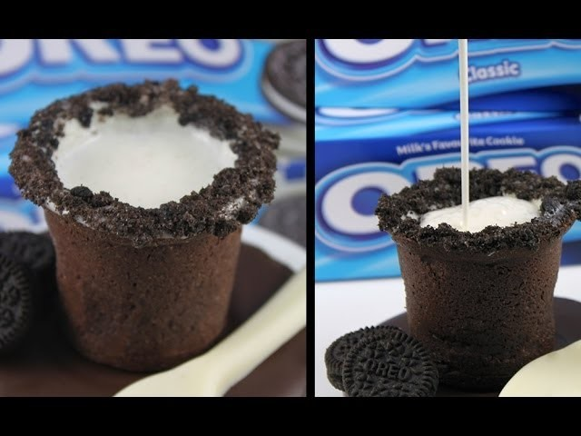 OREO Cookie Shots! Home Made Milk & Cookies & Cream Shooters Recipe by Cupcake Addiction