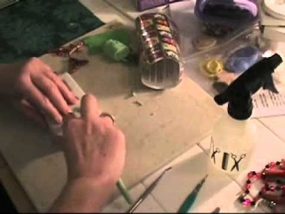 Polymer Clay Jewelry Making - How to Make Framed Pendants - Part 1