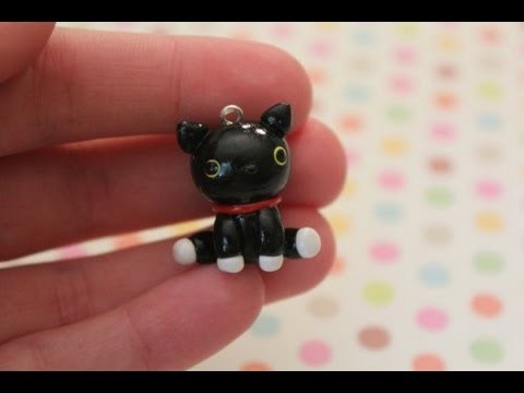 Polymer Clay: Kutusita Nyanko Cat Tutorial