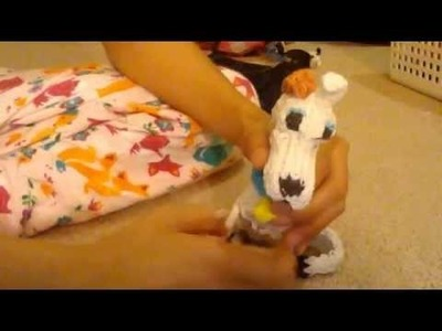 Rainbow Loom Life-Sized Puppy !!!!!!!!! :D