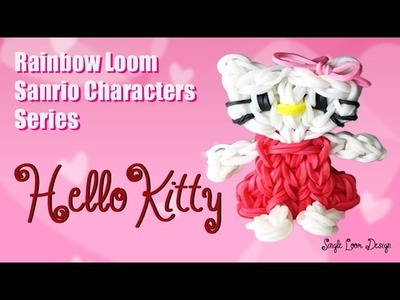 Rainbow Loom Sanrio Characters Series: Hello Kitty (Single Loom)