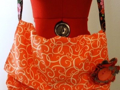 Sew an easy Messenger Bag - Part 1