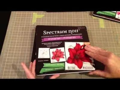 Spectrum Noir Blendable Pencils Review & Tutorial