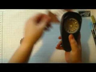 Stampin' Up! pocket sillhouette calendar tutorial