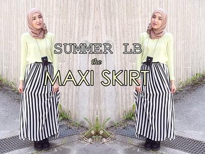 Summer Lookbook   Maxi Skirt