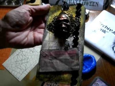 Tim Holtz - Make and Take Halloween Book Tags