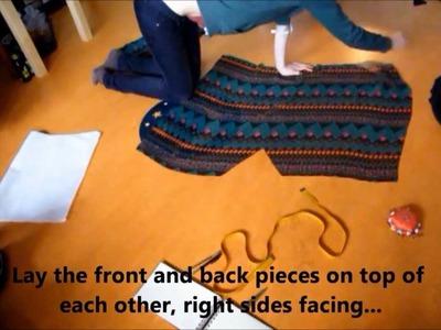 Tutorial: make your own chiffon summer dress!