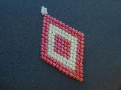 Tutorial perline Brick Stitch: come fare rombi con la tecnica Brick Stitch 2.2 | Tutorial Perline