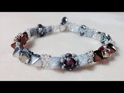 (Tutorial) Pyramid Montee Night Bracelet PART 1 (Video 68)