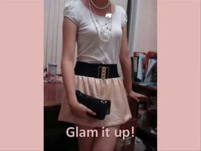 Tutorial: Simple Bubble Miniskirt