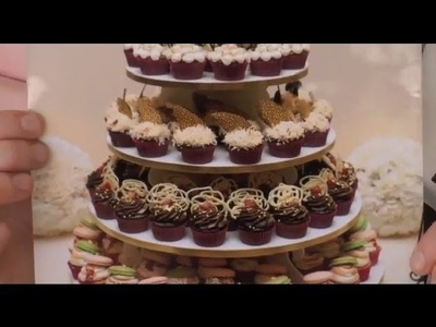Unique Cupcake Tower Ideas