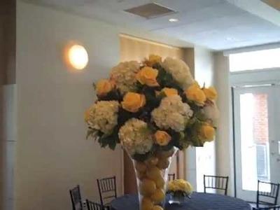 Wedding flower delivery to Philadelphia 6-27-09