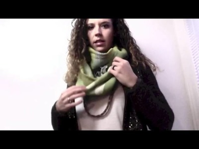 1 must have Closet Item to make every outfit magical: How to wear an infinity scarf