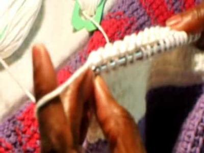 Afghan stitch 2