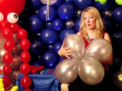 Balloon Art: How to Make a Seaweed Centerpiece
