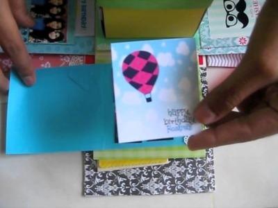 Birthday Explosion Box