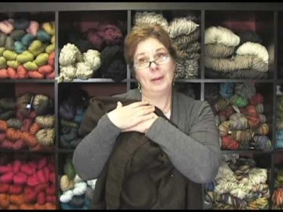 Blue Sky Alpacas Silk Shrug Pattern and Alpaca and Silk Yarn Review