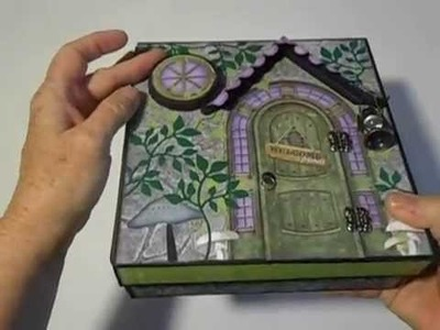 BoBunny Enchanted Garden Album in a Box