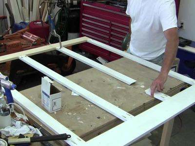 Build Simple Bathroom Wainscot Pt 1