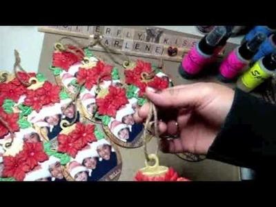 "Christmas ""Ornament"" cards"