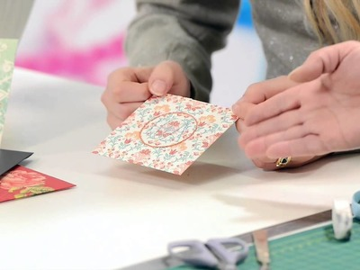 Decorating paper and envelopes with backstitch