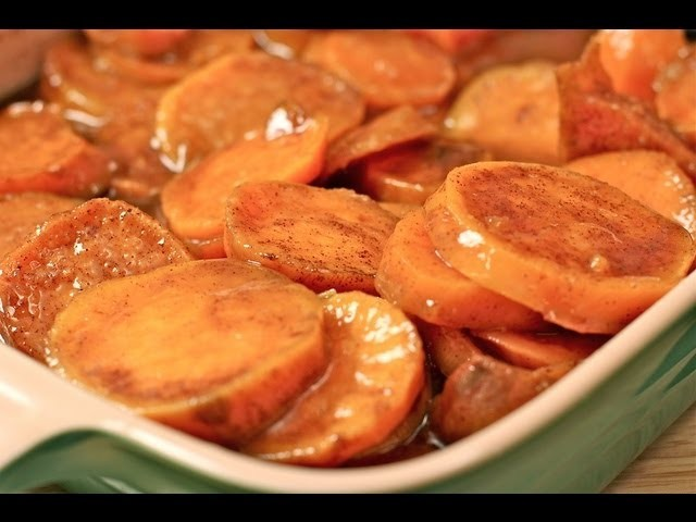 Divas Can Cook - Southern Baked Candied Yams Recipe: How to make the best candied yams!