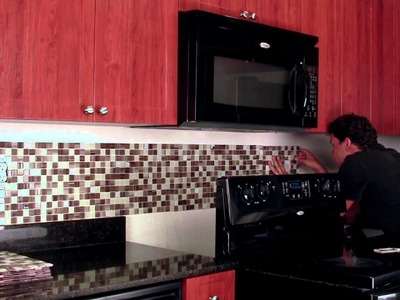 Do it Yourself Backsplash Peel & Stick Tile Kit