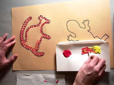 Dotting and mixing color for First Animal (Part 2.5).MOV