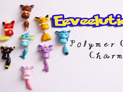 Eeveelutions - Pokemon: Polymer Clay Creations