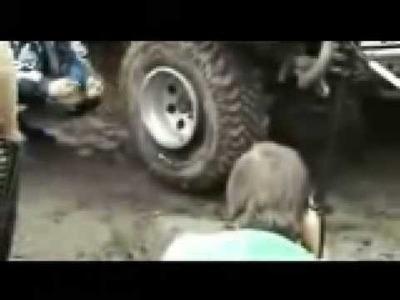 Fastest way to inflate your tires.