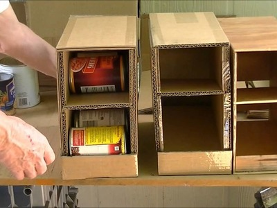 Home Made Can Organizer