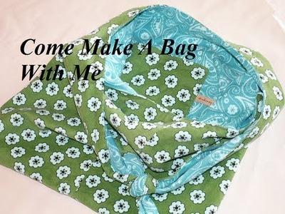 How 2 Make a Shoulder Bag