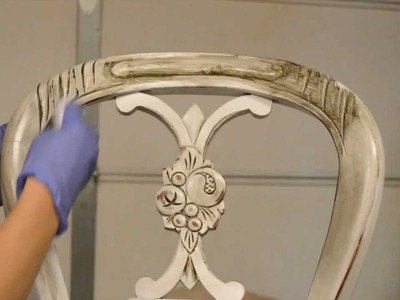 How to antique furniture. Distress. Stain.