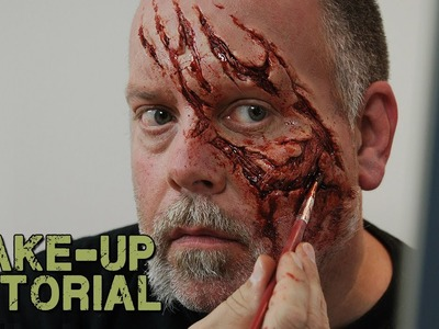 How to Apply a Prosthetic to Yourself - Zombie Style!