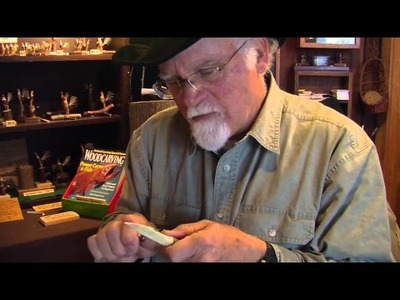 How To Carve A Bowie Knife Out Of Wood - Author Chris Lubkemann