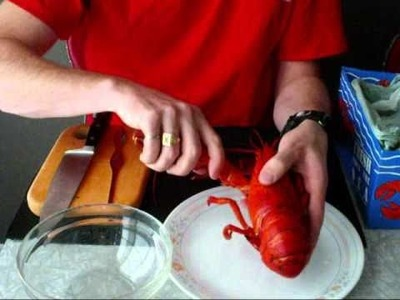 How to cook and shell a lobster