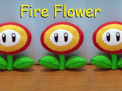 How to make a Fire Flower Plushie tutorial