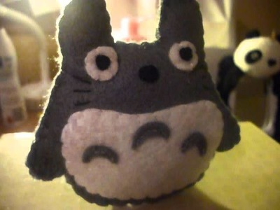 How to Make a Kawaii Totoro Plushie (Plush Tutorial)
