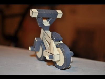How to make a paper bmx bike!