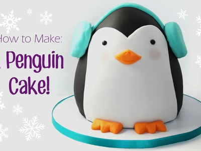 How to Make a Penguin Cake