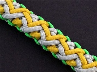 How to Make the Icelandic Endless Falls (Paracord) Bracelet by TIAT