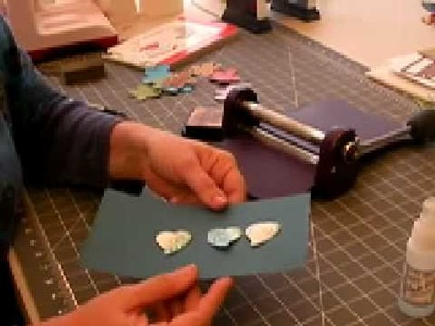 How to re-emboss (restyle) any Spellbinders diecut