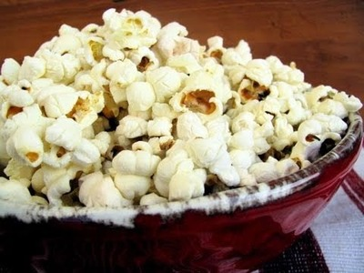 How To Stove-Top Popcorn