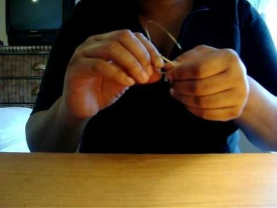 How to wire wrap earrings