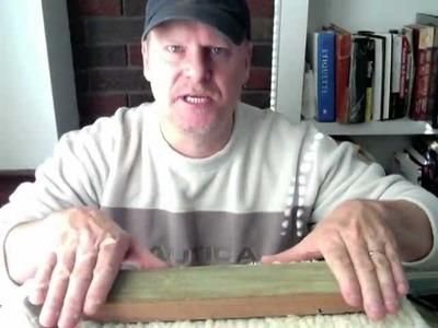 Let's make a strop - tutorial, knife sharpening